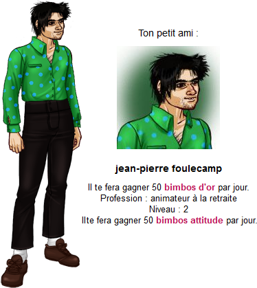 Niveau 2 : Jean-Pierre Foulecamp