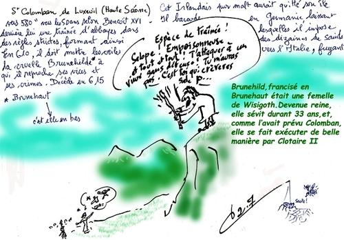 Saint du jour/ Luxeuil-les-Bains/Haute Saône