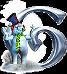 Alphabet Couleur Bleu