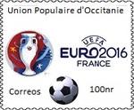 Correos dévoile un timbre pour l'euro de football
