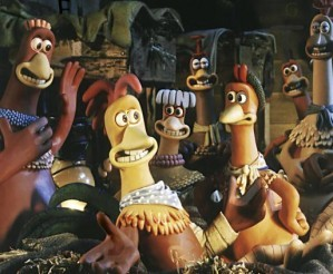 Chicken run - Find the alphabets