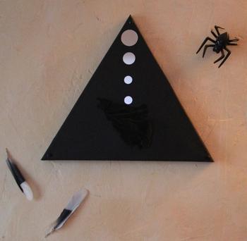araignée et plumes