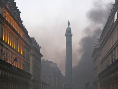 Incendie place Vendôme 6