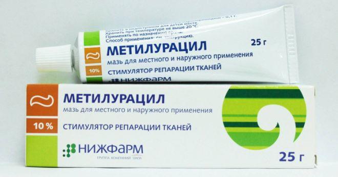 Можно ли использовать метилурациловую мазь при геморрое отзывы