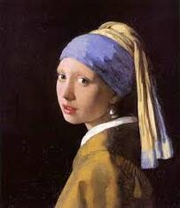 """Vermeer, """"La jeune fille à la perle"""" (La Haye - Pays-Bas - vers 1665)"""