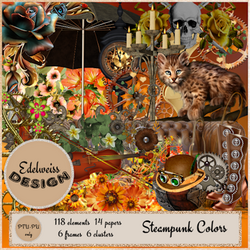 **Edelweiss Design** CT Tags with the Kit *Steampunk_colors*