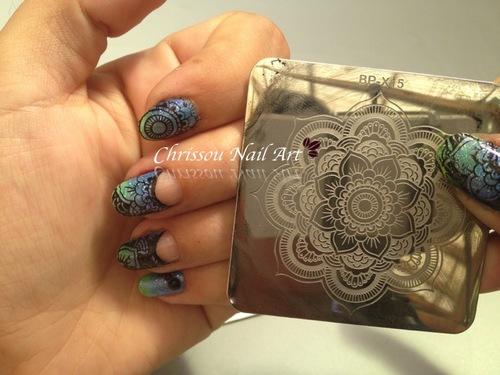 Mandala stamping
