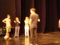 Suivi de la création d'une pièce de théâtre par les TER1