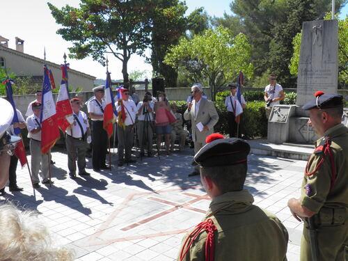 * LA GARDE en Provence a fêté commémoré sa Libération