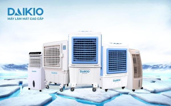 Những chiếc máy làm mát không khí daikio