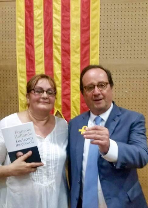 """Quand Hollande nous fait son petit show de """"solidarité"""" avec la Catalogne"""