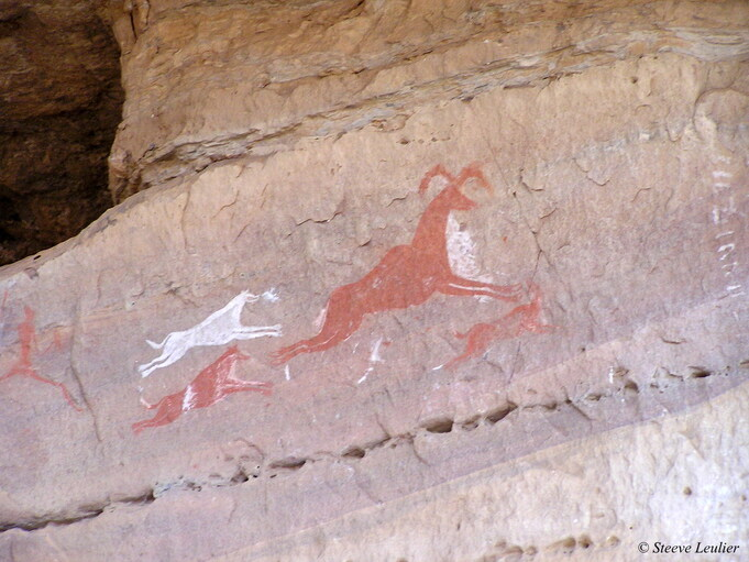 Art rupestre du Tadrar Akakus 2, Libye 2005