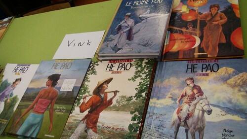 """La BD """"Le livre sur la place"""" 2011  Vink"""
