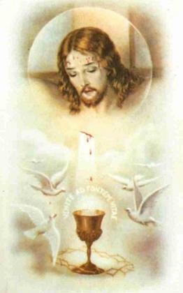Consécration au Précieux Sang de Jésus