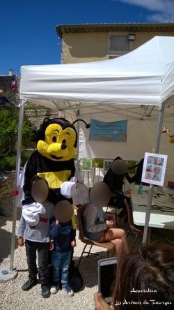 Fête de l'abeille à St Restitut (26)