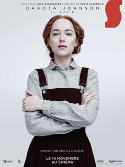 SUSPIRIA - Découvrez les affiches personnages et les affiches décors - SUSPIRIA avec Dakota Johnson et Tilda Swinton, le 14 novembre 2018 au cinéma