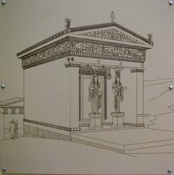 musée de Delphes -thésauros