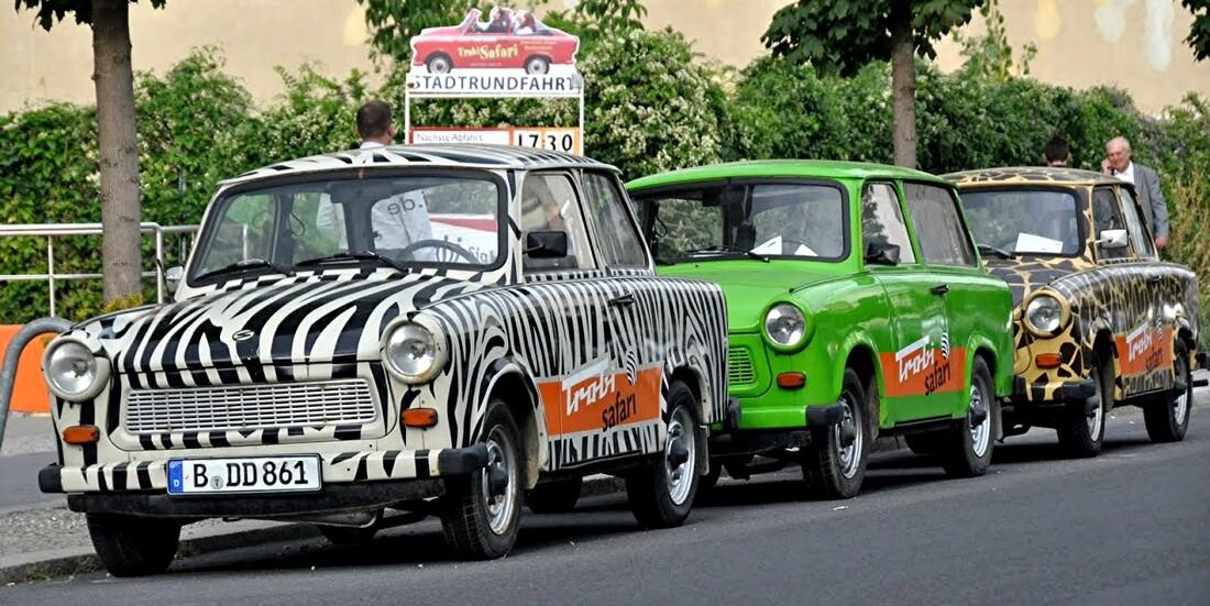 Berlin - 1 - en marchant le long des rues