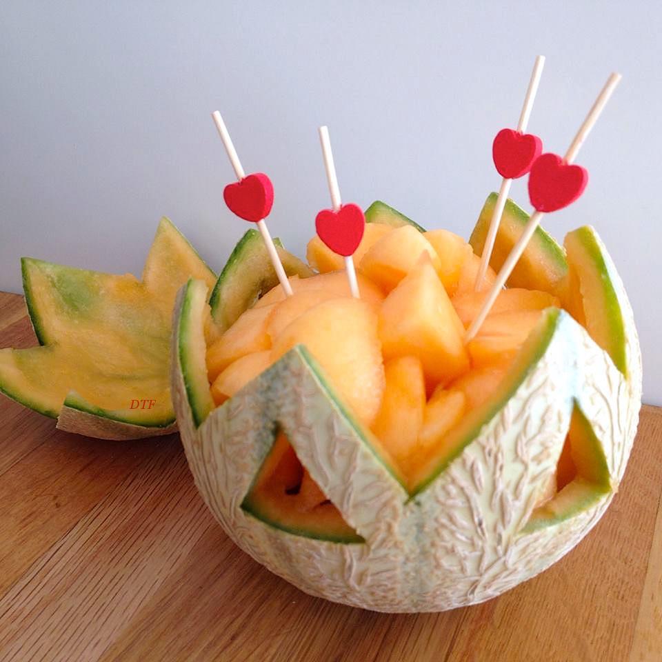 Melon et sa pr sentation originale blogs de cuisine - Blog cuisine originale ...