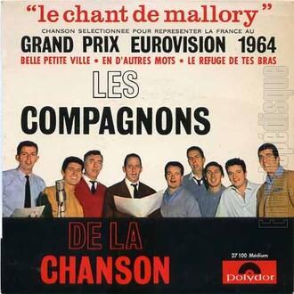Les Compagnons de la chanson, 1964