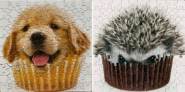 Que voilà une façon intéressante de voir le puzzle ...