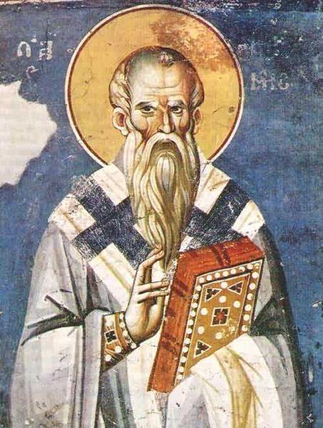 Saint Clément Ier. Pape (4 ème) de 88 à 97 et martyr († 97)