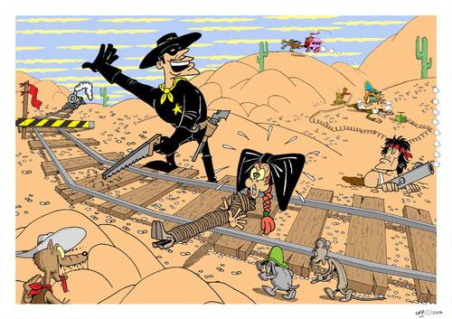 a western scene