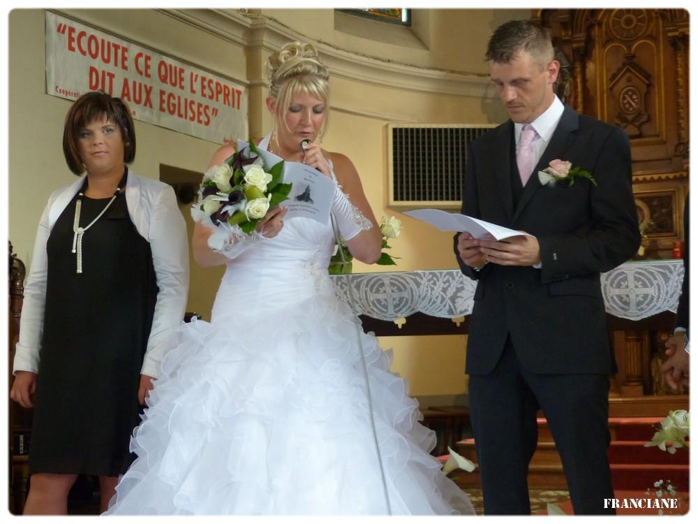 quelques photos des mariées à votre demande !