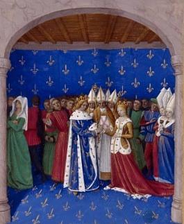 Mariage de Charles IV le Bel et Marie de Luxembourg