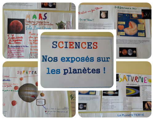 Les exposés de sciences