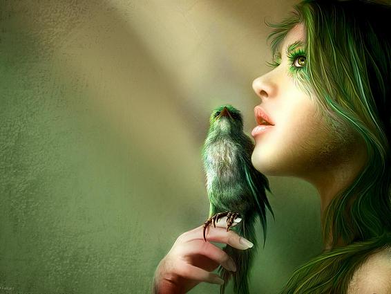 Tube elfes et oiseaux