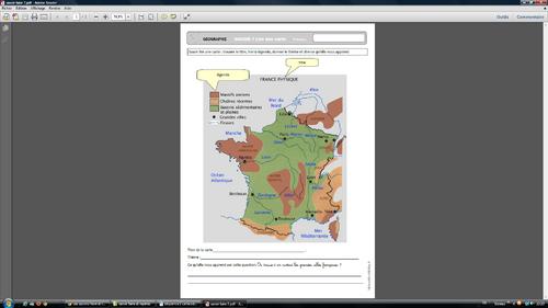 Les savoirs-faire et les savoirs en géographie