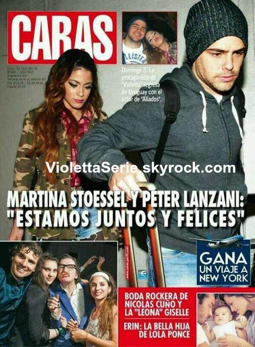 D'après se magazine Martina sortirai avec un Peter Lanzani, nous aurais t- elle mentie au sujet de ses sentiments?