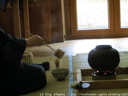 Cours de cérémonie de thé 2013