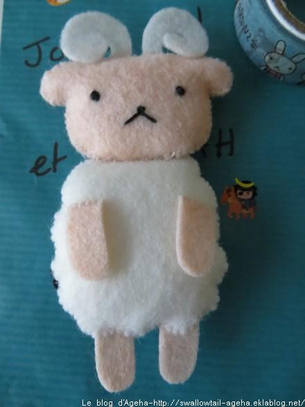 White Sheep Aranzi Aronzo