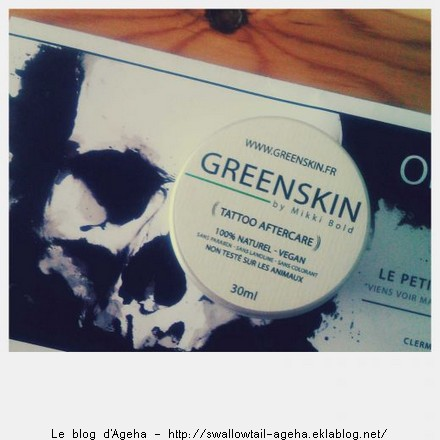 Baume greenskin tattoo