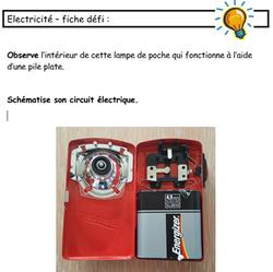 Ateliers sur l'électricité