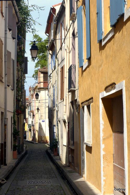 Céret: promenade dans les rues