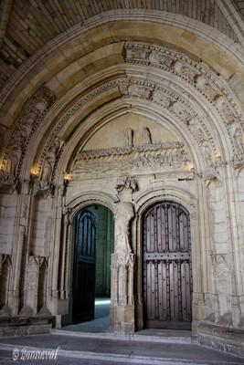 Palais des Papes portail de la Grande Chapelle Avignon Vaucluse