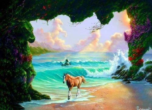 Les chevaux cachés
