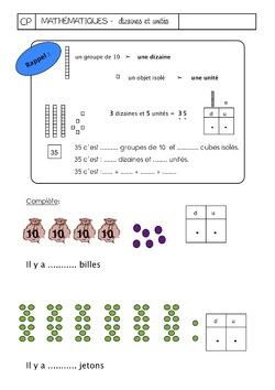 Dizaines et unités