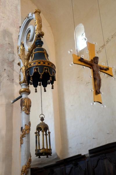 Visite de l'église Saint-Vorles