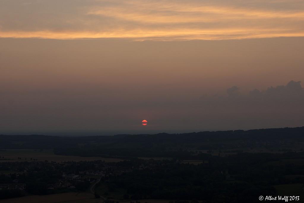 Disparition du soleil -  2 et fin.