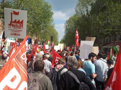 Notre présence à la Bastille le 5 mai 2013