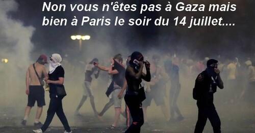 Liesse populaire, show de Macron et de nos footeux.