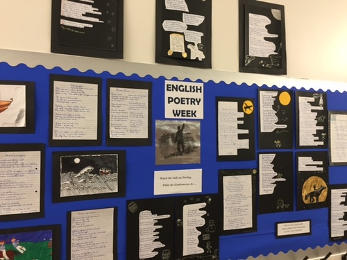 English Poetry Week