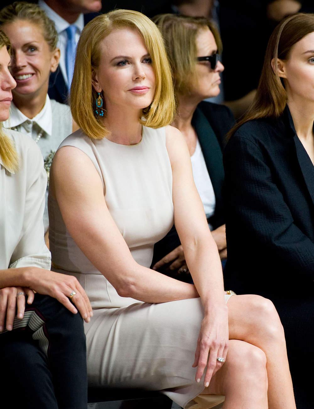 Le carré droit de Nicole Kidman