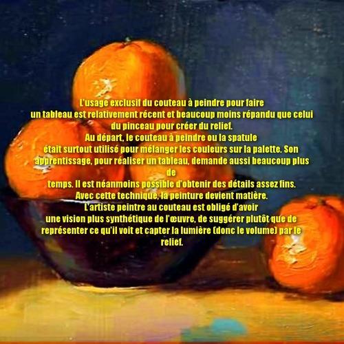 Dessin et peinture - vidéo 3319 : Comment peindre avec de la peinture épaisse avec ou sans spatule ? - huile, acrylique.