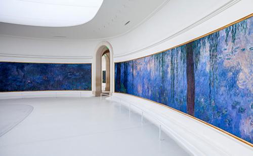 Oeuvre de Monet dédiée à la paix