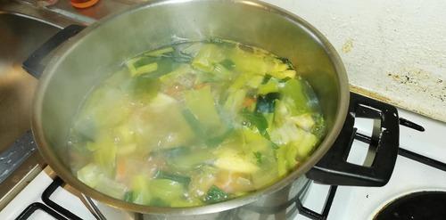 la soupe de légumes d'antan..